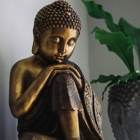 Mindful Buddha Sculpture - Spa Living
