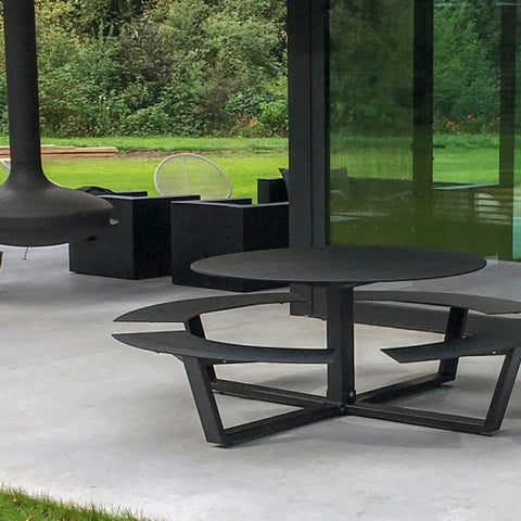 Ronde combined table and bench seat