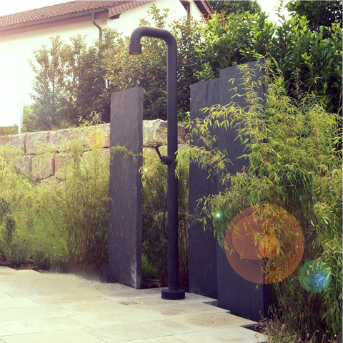 SOHO Freestanding Outdoor Shower [Matt Black]