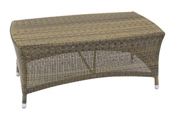 Sussex Rattan Outdoor Coffee Table Mocha