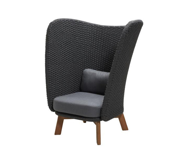 Peacock High Back Chair