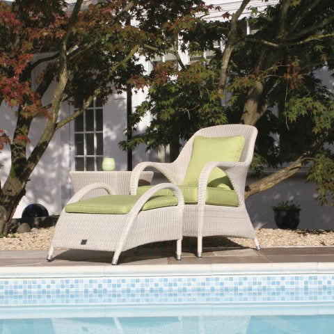 Sussex Outdoor Footstool - Spa Living