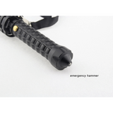 Flashlight Baton/Bat With Telescoping Handle for Self Defense, Survival, and Roadside Safety