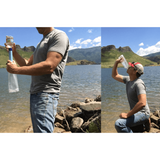Survival Water Straw - Get Clean Water Anywhere!
