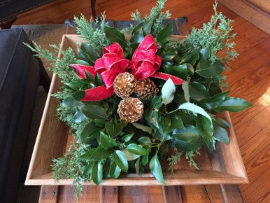 Table or Mantel Arrangement w/ Bow: More in stock!