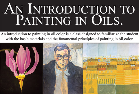 Botanical Art Class: An Introduction to Painting in Oils