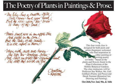 The Romance of Art and Nature: The Poetry of Plants in Paintings & Prose