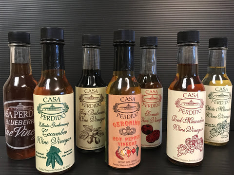 Perdido Vineyard Wine Vinegars
