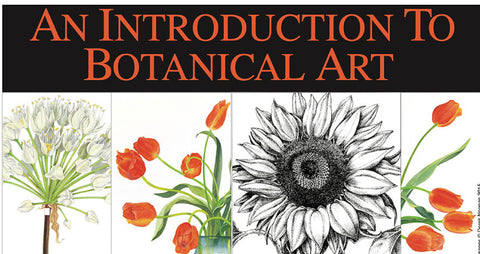 Botanical Art Class III: Learning How to Work with Watercolor