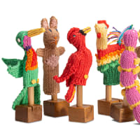 Organic Cotton Finger Puppets - Instore Only
