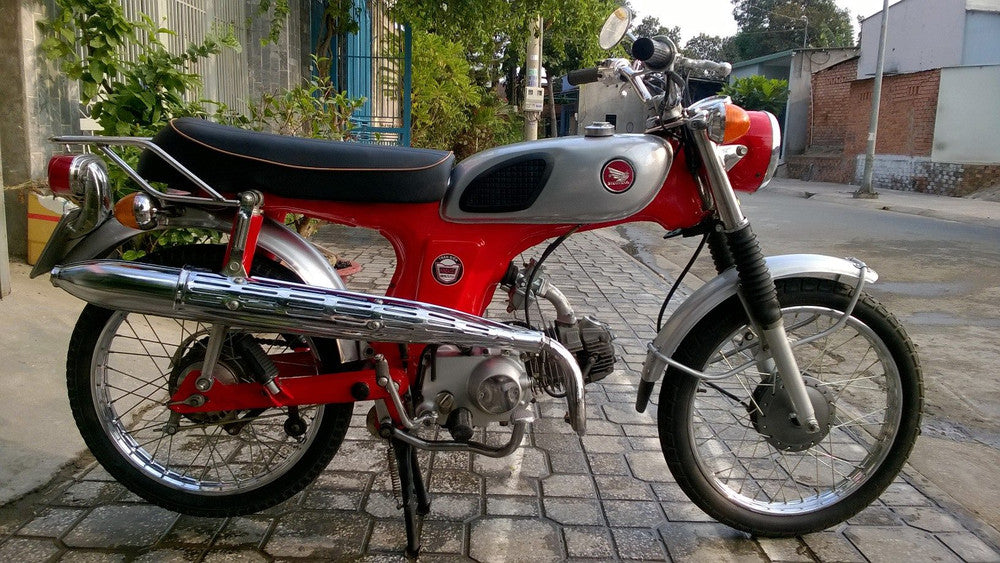 1972 Honda 67 CL50 Red