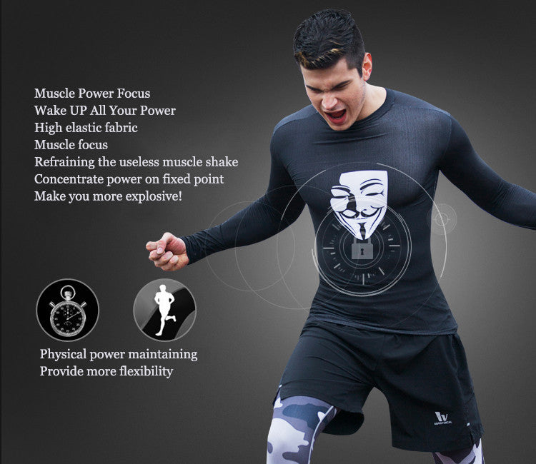 Muscle Power Focus,Wake UP All Your Power,High elastic fabric,Muscle focus,Refraining the useless muscle shake.Concentrate power on fixed point.Make you more explosive! Physical power maintaining,Provide more flexibility