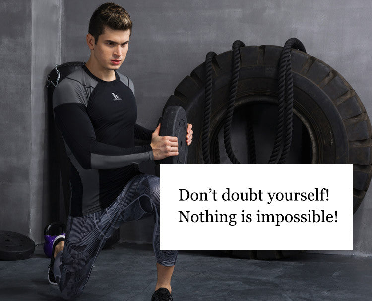 Don't doubt yourself!Nothing is impossible!