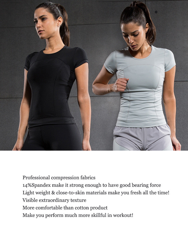 Professional compression fabrics; 14%Spandex make it strong enough to have good bearing force; light weight and close to skin materials make you fresh all the time; Visiable extraordinary texture. More comfortable than cotton product Mke you perform much more skillful in workout.