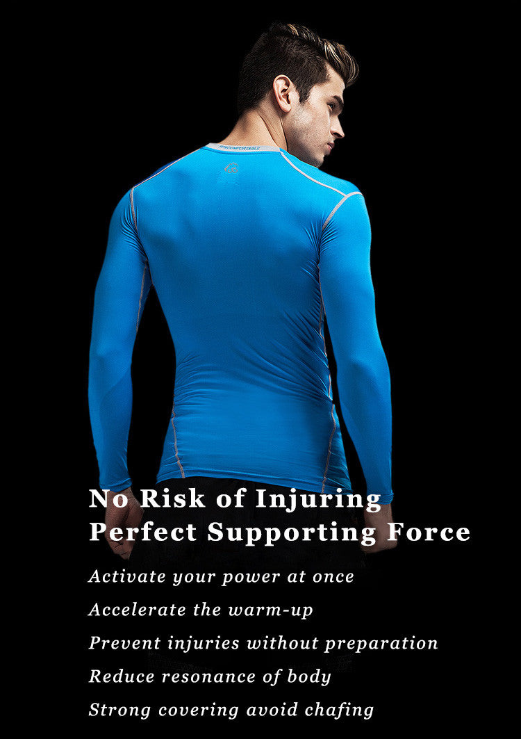 No Risk of Injuring,Perfect Supporting Force,Activate your power at once,Accelerate the warm-up.Prevent injuries without preparation,Reduce resonance of body.Strong covering avoid chafing