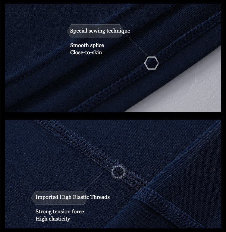 Special sewing technique,Smooth splice ,Close-to-skin.Imported High Elastic Threads,Strong tension force,High elasticity