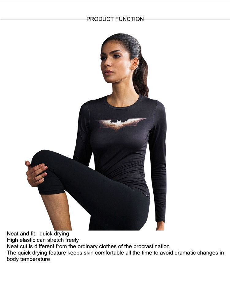 Neat and fit,quick drying,High elastic can stretch freely.Neat cut is different from the ordinary clothes of the procrastination.The quick drying feature keeps skin comfortable all the time to avoid dramatic changes in body temperature