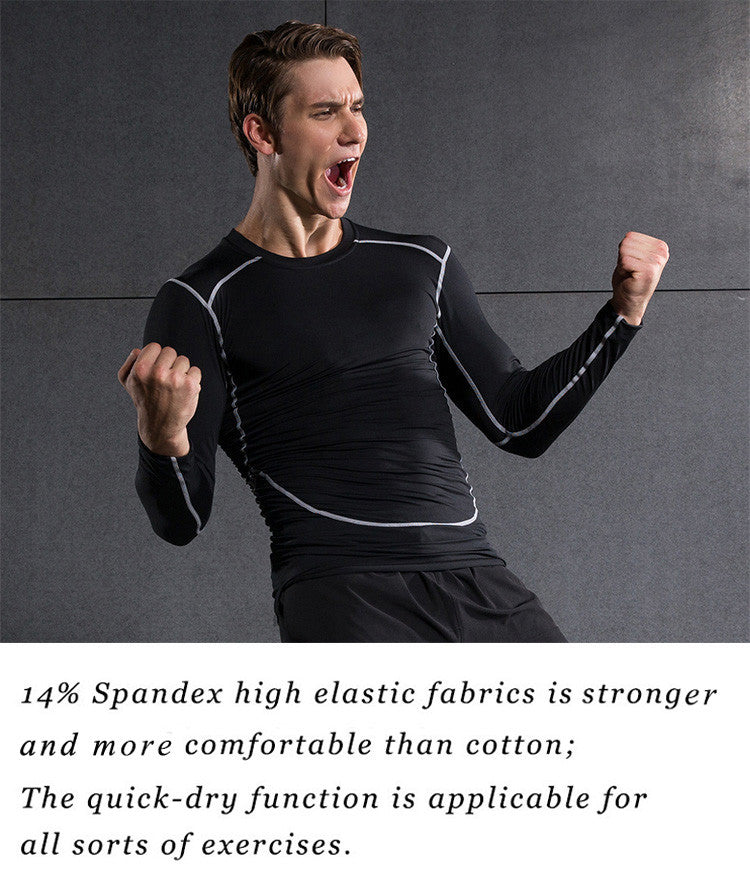 14% Spandex high elastic fabrics is more strong and comfortable than cotton;The quick-dry function is applicable for all sorts of exercises.