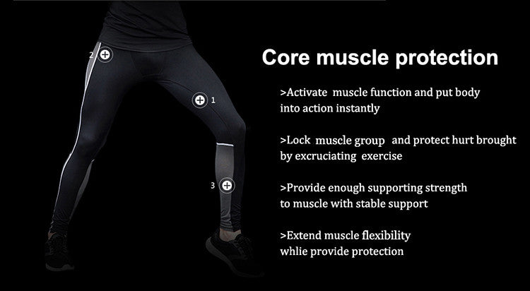 Core Muscle Protection, Active muscle function and put body into action instantly. Lock muscle group and protect hurt brought by excruciating exercise. Provide enough supporting strength to muscle with stable support. Extend muscle flexibility white provide protection.