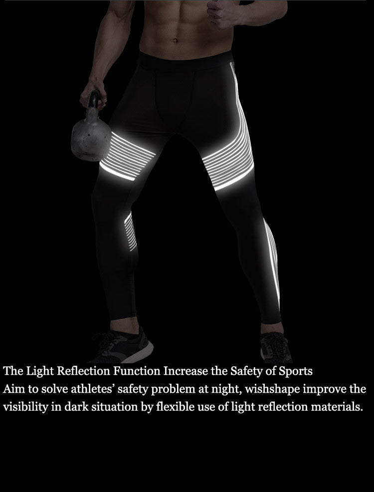The Light Reflection Function Increase the Safety of Sports.Aim to solve athletes' safety problem at night, wishshape improve the visibility in dark situation by flexible use of light reflection materials.