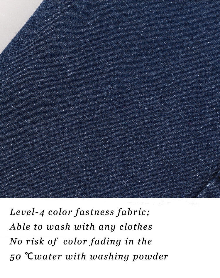 Level-4 color fastness fabric; Able to wash with any clothes; No risk of  color fading in the 50 ℃ water with washing powder.