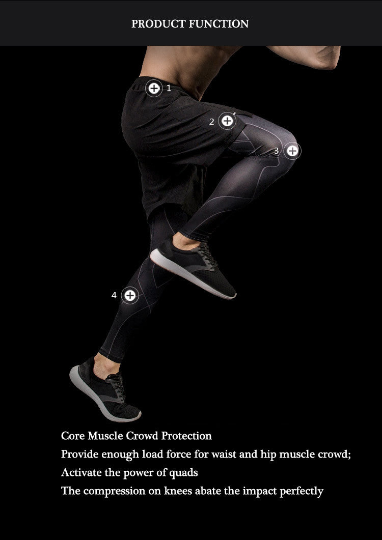 Core Muscle Crowd Protection,Provide enough load force for waist and hip muscle crowd;Activate the power of quads.The compression on knees abate the impact perfectly