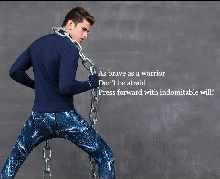 As brave as a warrior ,Don't be afraid,Press forward with indomitable will!