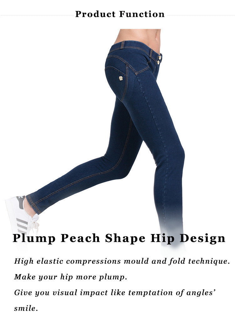 Product Function! Plump Peach Shape Hip Design; High elastic compressions mould and fold technique; Make your hip more plump; Give you visual impact like temptation of angles' smile.