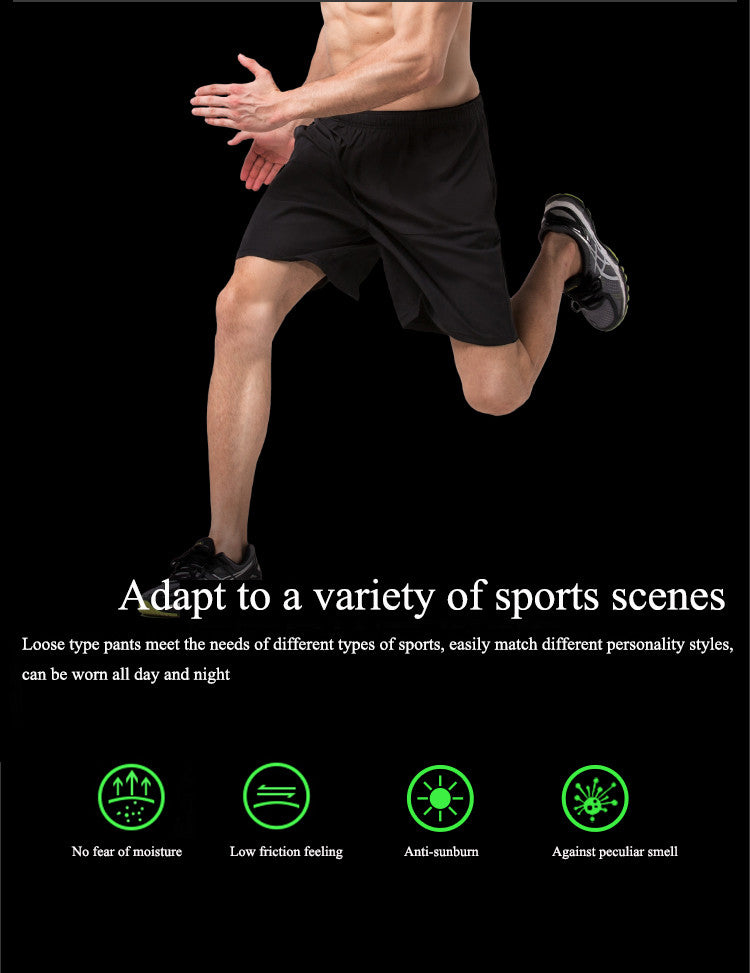 Adapt to a variety of sports scenes,Loose type pants meet the needs of different types of sports, easily match different personality styles, can be worn all day and night.No fear of moisture,Low friction feeling,Anti-sunburn ,Against peculiar smell