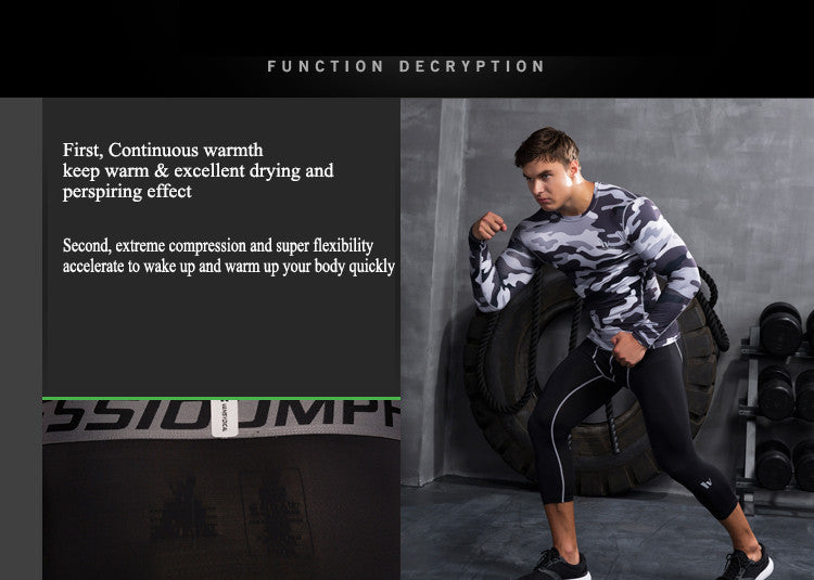 First, Continuous warmth,keep warm & excellent drying and perspiring effect.Second, extreme compression and super flexibility,accelerate to wake up and warm up your body quickly