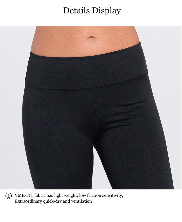 Details Display! VME-FIT fabric has light weight; low friction sensitivity; Extraordinary quick-dry and ventilation.