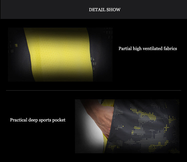 Partial high ventilated fabrics