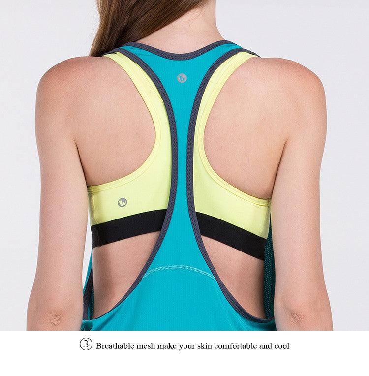 Breathable mesh make your skin comfortable and cool.