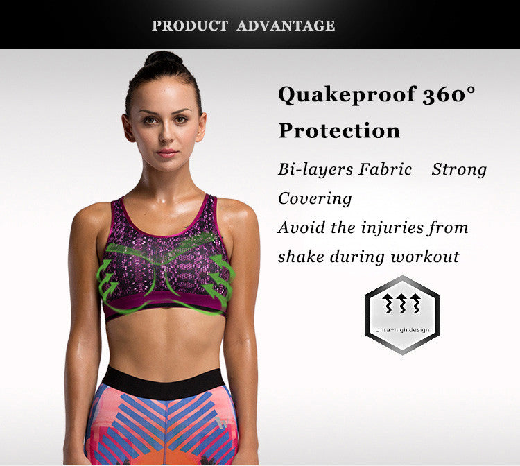 Quakeproof 360°Protection,Bi-layers Fabric,Strong Covering.Avoid the injuries from shake during workout