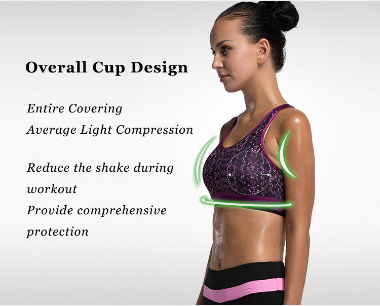 Overall Cup Design,Entire Covering,Average Light Compression,Reduce the shake during workout,Provide comprehensive protection