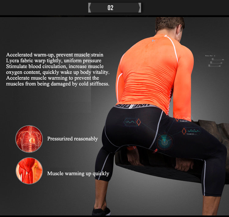 Accelerated warm-up, prevent muscle strain,Lycra fabric warp tightly, uniform pressure.Stimulate blood circulation, increase muscle oxygen content, quickly wake up body vitality. Accelerate muscle warming to prevent the muscles from being damaged by cold stiffness.Pressurized reasonably,Muscle warming up quickly