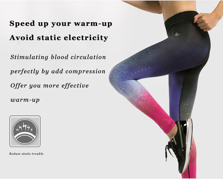 Speed up your warm up; avoid static electricity; Stimulating blood circulation; Perfectly by add compression; offer your more effective warm-up.