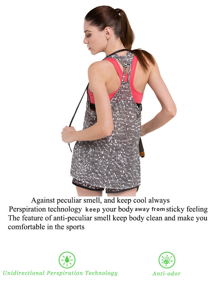 Against peculiar smell,and keep cool always. Perspiration technology make your body faraway sticky feeling. The feature of anti-peculiar sell keep body clean and make you comfortable in the sports.