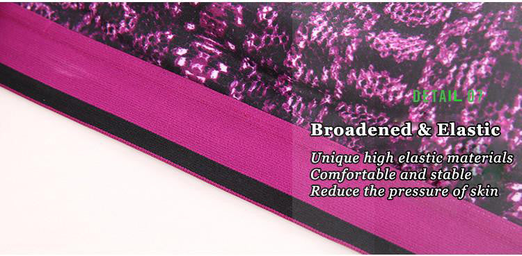 Broadened&Elastic,Unique high elastic materials,Comfortable and stable,Reduce the pressure of skin