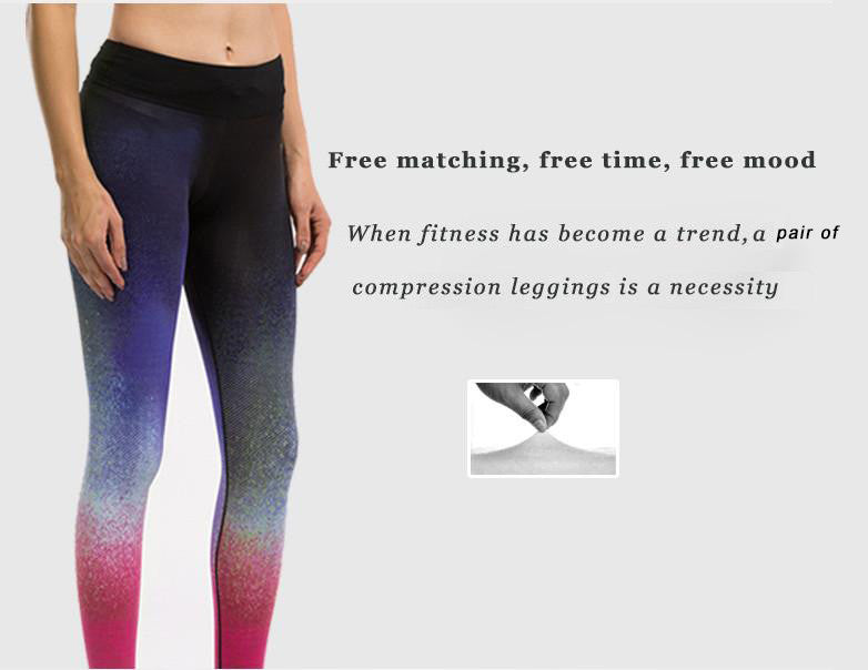 Free matching, free time, free mood; When fitness has become a trend, a compression legging is a necessity; The chic style can be matched all depend on your mind.