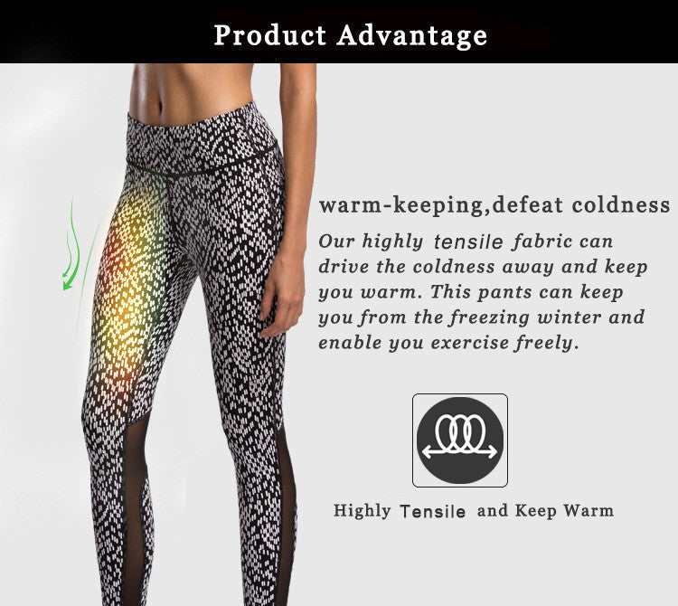 Warm-keeping,deafeat coldness; Our highly tnsible fabric can drive the coldness away and keep you warm; This pants can  keep you from the freezing winter and enable you exercise freely.
