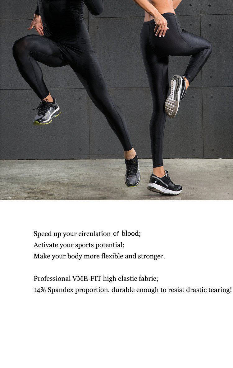 Speed up your circulation f blood;Activate your sports potential;Make your body more flexible and strong.Professional VME-FIT high elastic fabric;14% Spandex proportion, durable enough to resist drastic tearing!