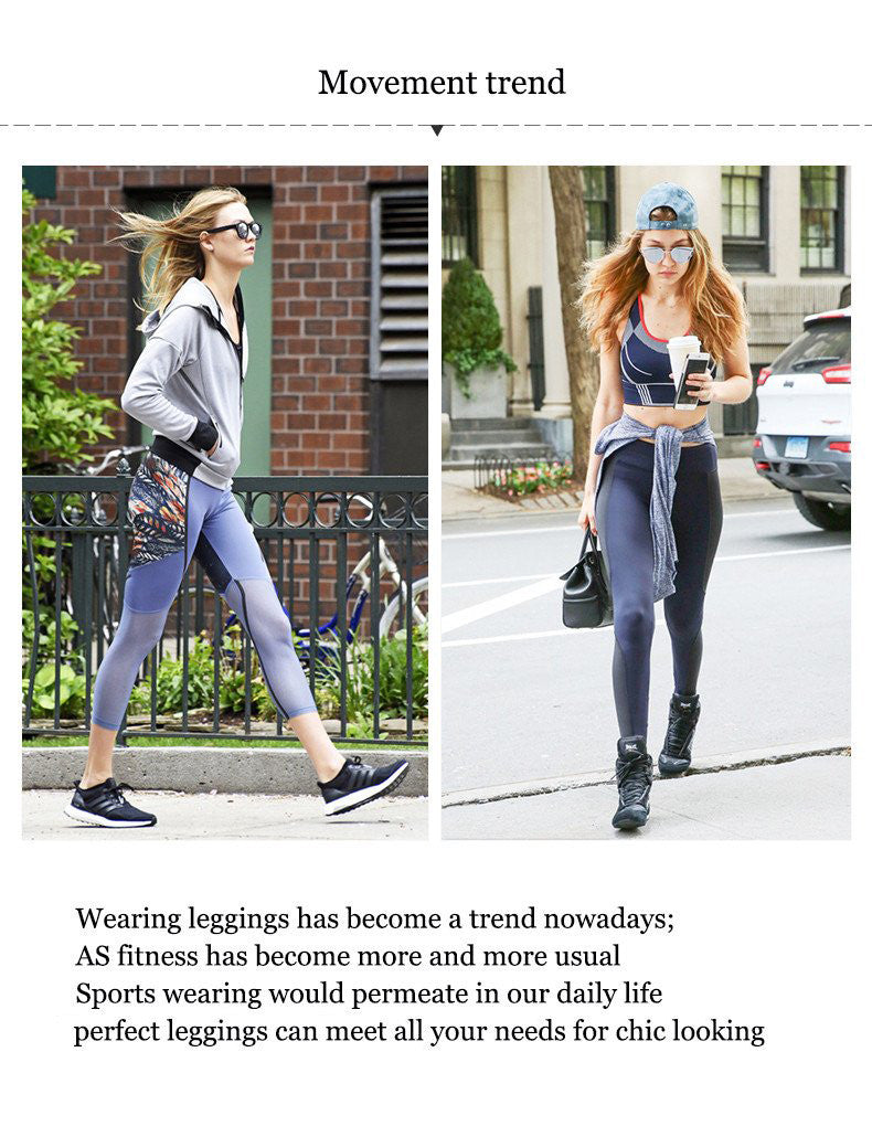 Wearing leggings has become a trend nowadays; AS fitness has become more and more usual; Sports wearing would permeate in our daily life; A perfect leggings can meet all your needs for chic looking.