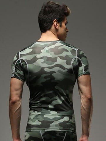 Camouflage Tops