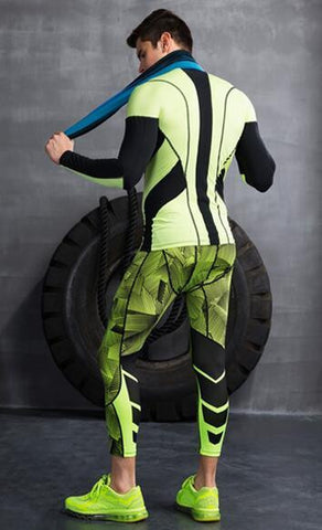Spacetime 3/4 Leggings