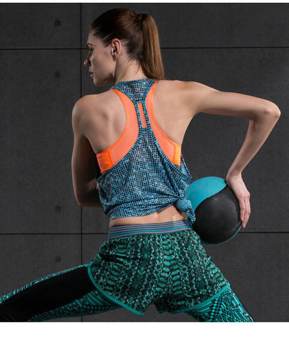 Starry Night Workout Tops