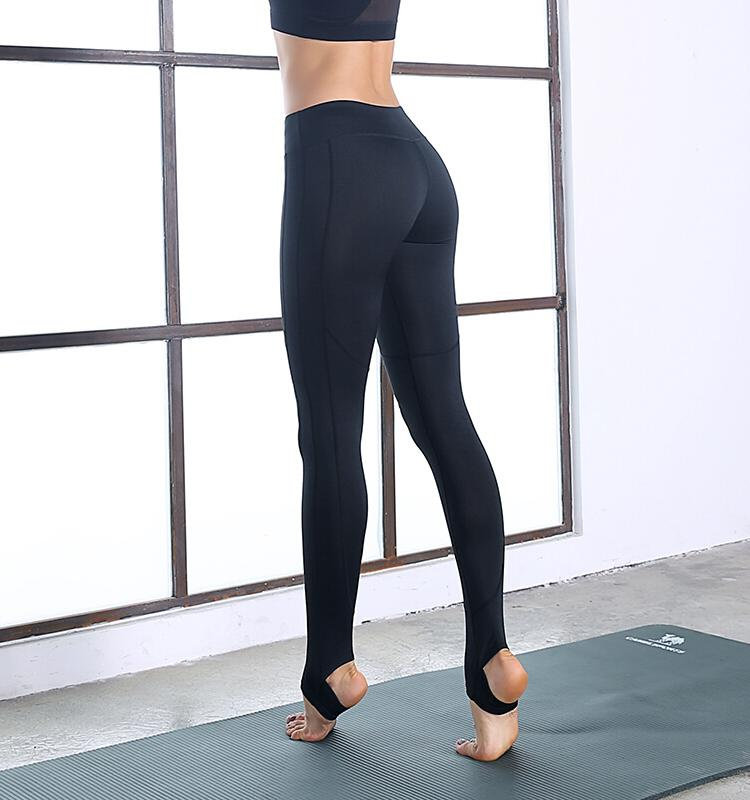 High Waist Over Heels Leggings,Black