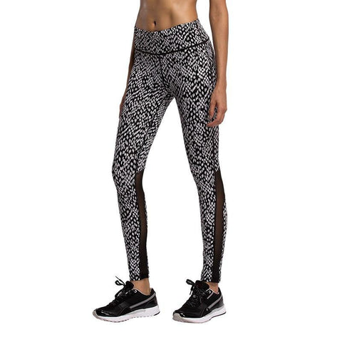 Dot Pattern Womens Compression Pants