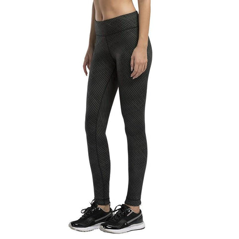 Inclined Stripes Compression Pants