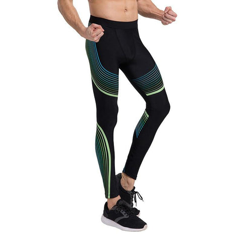 Stream Lines Men Leggings